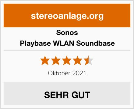 Sonos Playbase WLAN Soundbase Test