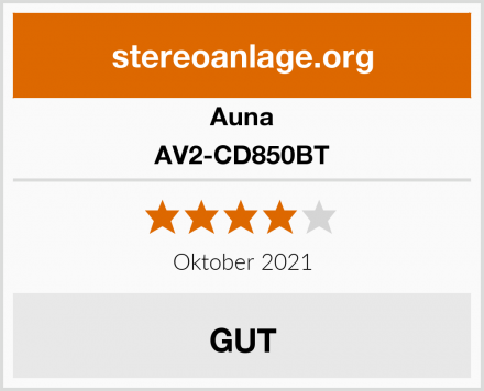 Auna AV2-CD850BT Test