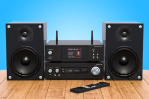 Stromverbrauch einer Stereoanlage