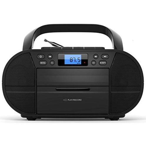 Ecosa CD-Player mit Kassettendeck