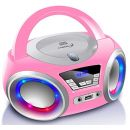 Cyberlux CD-Player mit LED-Beleuchtung