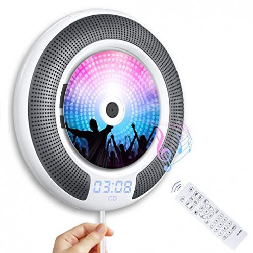 Gueray Tragbarer CD Player mit Bluetooth