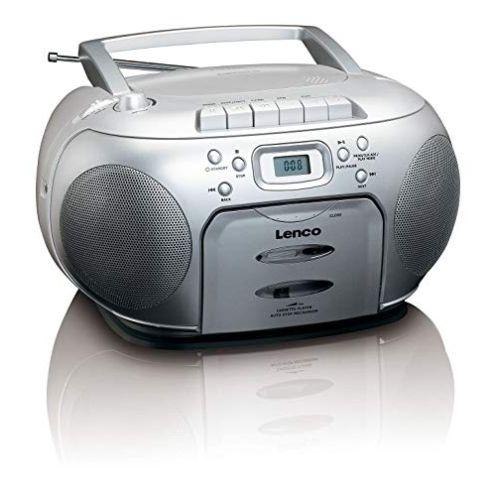 Lenco Lenco SCD-420 Silver Tragbares UKW-Radio